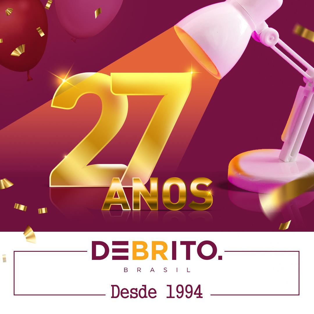 27 anos de DeBrito! 👏🎂
